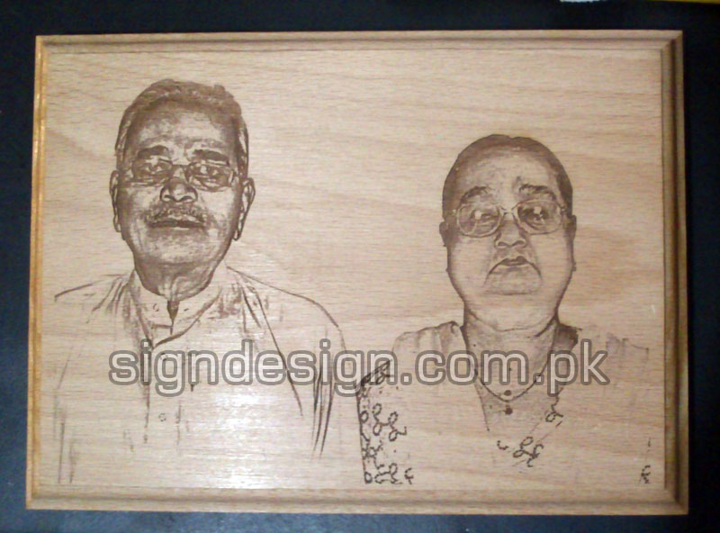 Photo Engraving of your loved ones