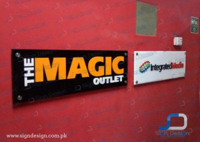 Magic & Integrated Media Signs