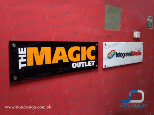 Magic & Integrated Media Signs