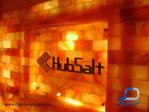 Hubsalt 3D Signs