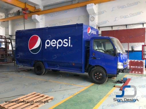 Pepsi Truck Branding