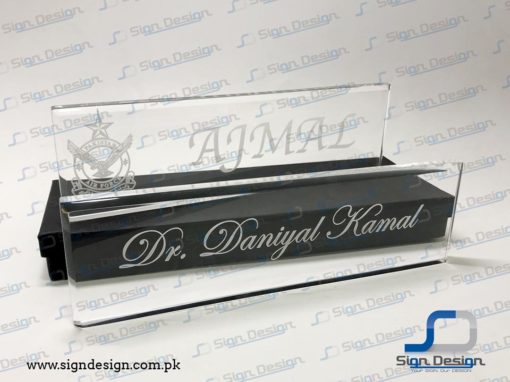 Desktop Acrylic Name Plates