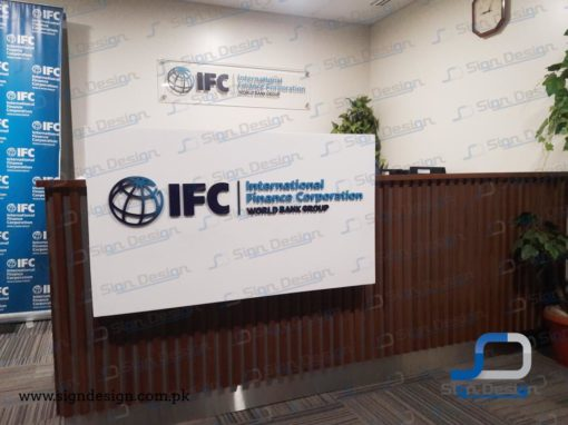 IFC-World Bank Group Indoor Signage