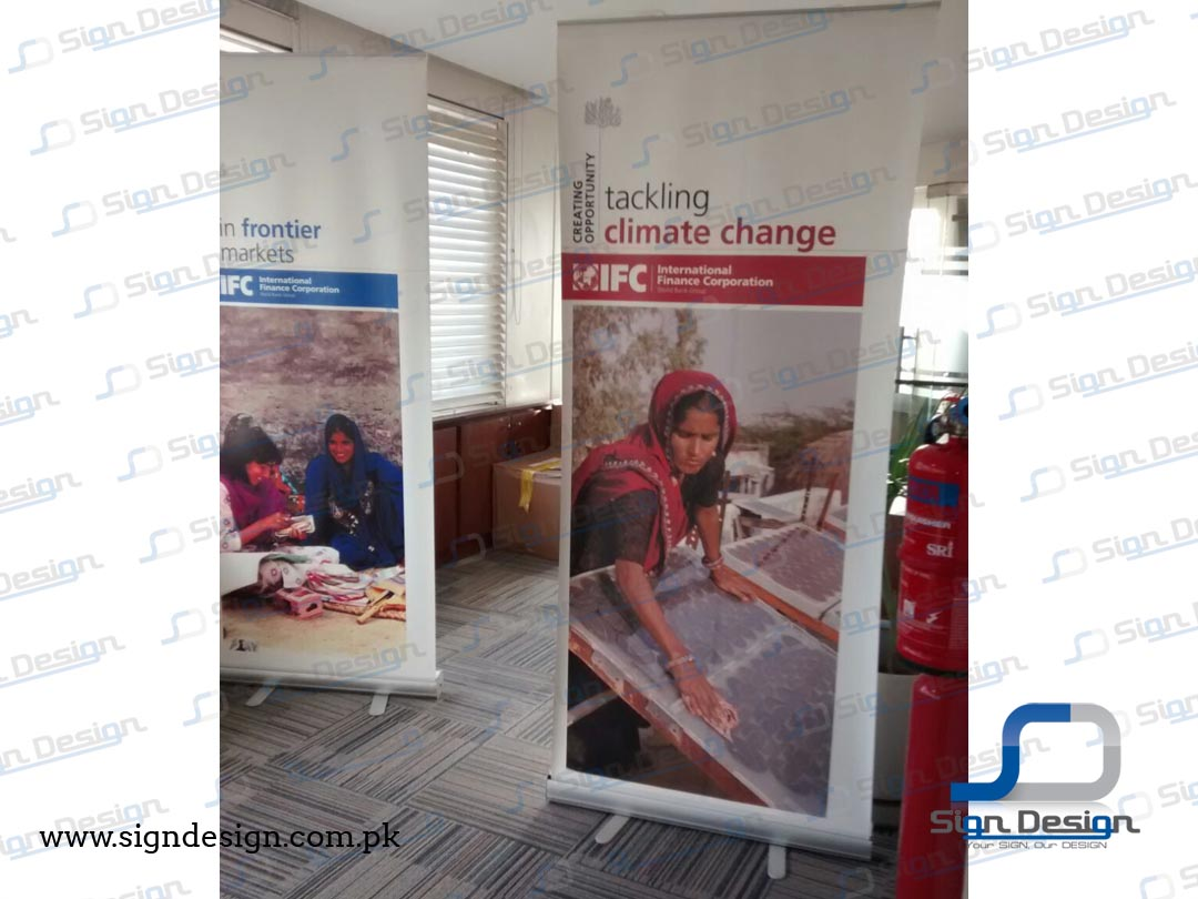 IFC World Bank Standee