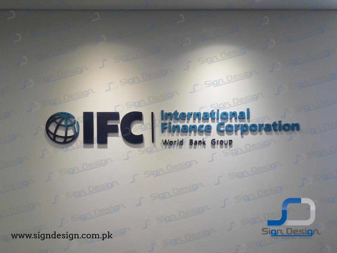 IFC World Bank Signage